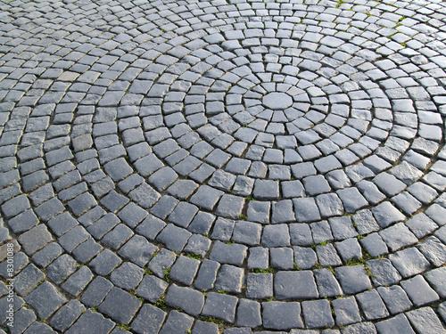 Leinwanddruck Bild Granite street
