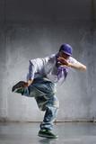 hip-hop dancer poster