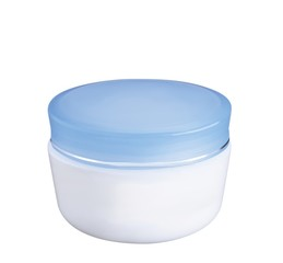 facial cream isolated