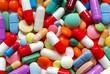 Leinwandbild Motiv Pills