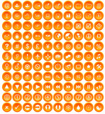 110 Miscellaneous buttons (orange) poster