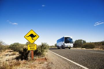 Bus rural Australia