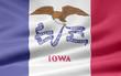 Iowa Flagge