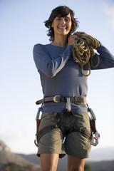 Portrait of a climber