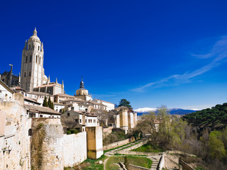 View of Segovia, Spain