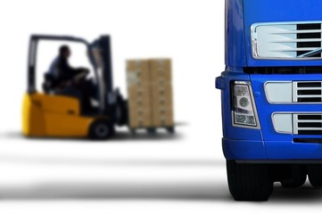 blue transport