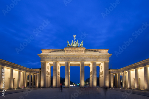 Leinwanddruck Bild Brandenburg Gate - Berlin, Germany
