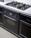 Modern gas stove and oven   poster