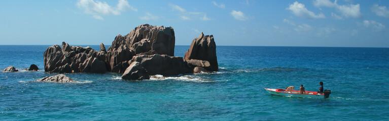 snorkelling aux Seychelles