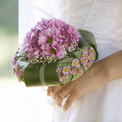 A bridal bouquet