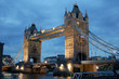 Tower Bridge in London England - 8341844
