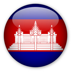 Cambodian flag button