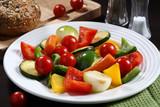 Vegetarian dinner poster