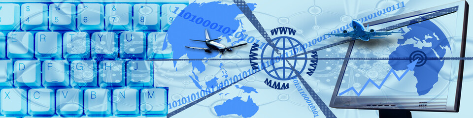 Header: Technology and World wide business