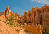 Red pinnacles (hoodoos) of Bryce Canyon, Utah, USA