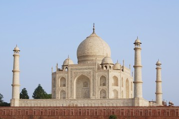 Taj Mahal from Yamuna side