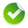 sticker adhésif validation
