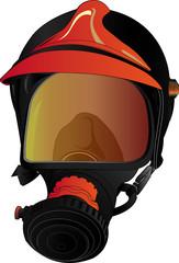 maschera antigas dei pompieri