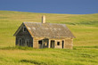 Old Abandoned Homestead on the Prairie