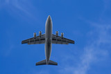 under the flight path of a passenger airliner poster