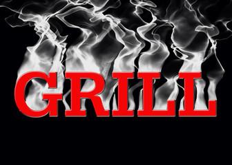 Grill Cooking Sign