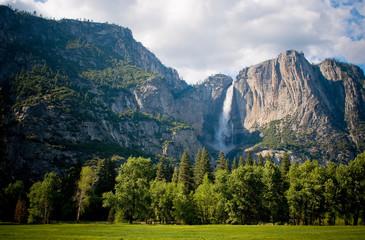 Yosemite waterfall, California, USA