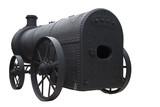 Antique Steam Engine poster