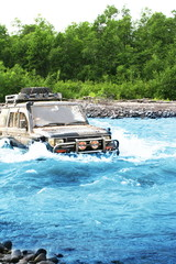 Jeep on Kamchatka
