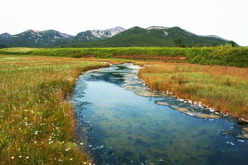 River on Kamchatka