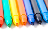 Felt-tip pens poster