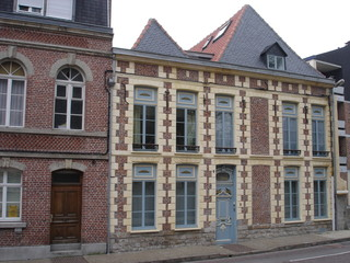 Habitat traditionnel à Arras (Pas-de-Calais)