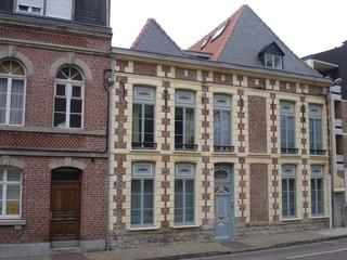Habitat traditionnel à Arras (Pas-de-Calais)
