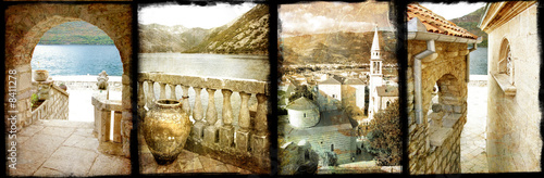 old Montenegro - vintage collage