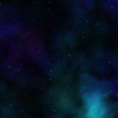 Outerspace sky