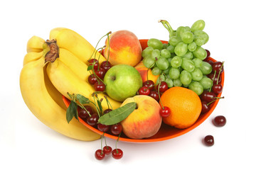 colorfull of fruits