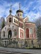 russ.-orthodoxe Kirche des heiligen Vladimir in Marienbad