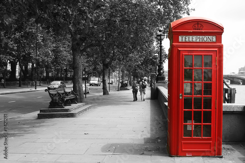 London Telephone Booth - 8421281