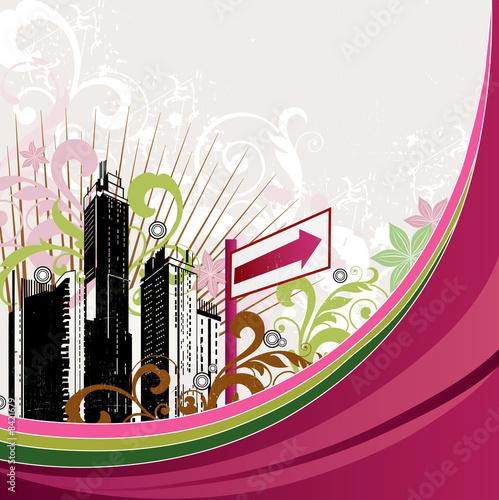 Leinwandbild Motiv urban