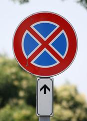 divieto di fermata