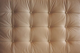 Comfortable Buttoned Leather Pattern poster