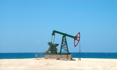 Petroleum extraction on cuban soil