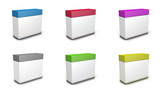 Fototapety Packaging rectangle couleurs