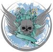 Skull Design 6