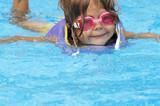 goggle swim poster