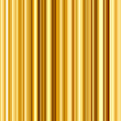 Bright gold colors vertical stripes abstract background.