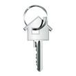 House key in key ring