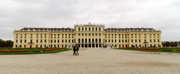 SCHONBRUNN CASTLE 3 IN VIENNA (AUSTRIA)