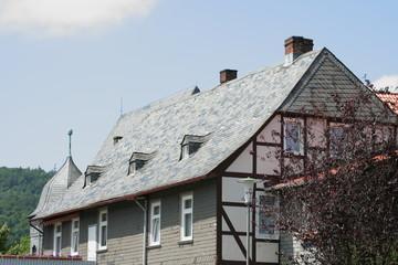 Fachwerkhausfassade