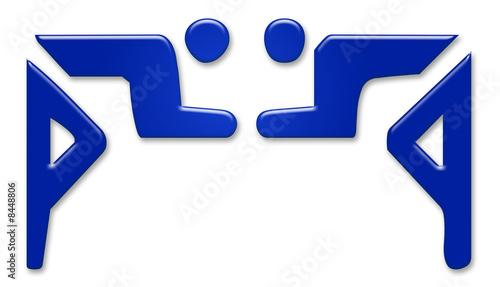 ringen wrestle symbol