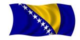 bosnien herzegowina fahne bosnia herzegovina flag poster